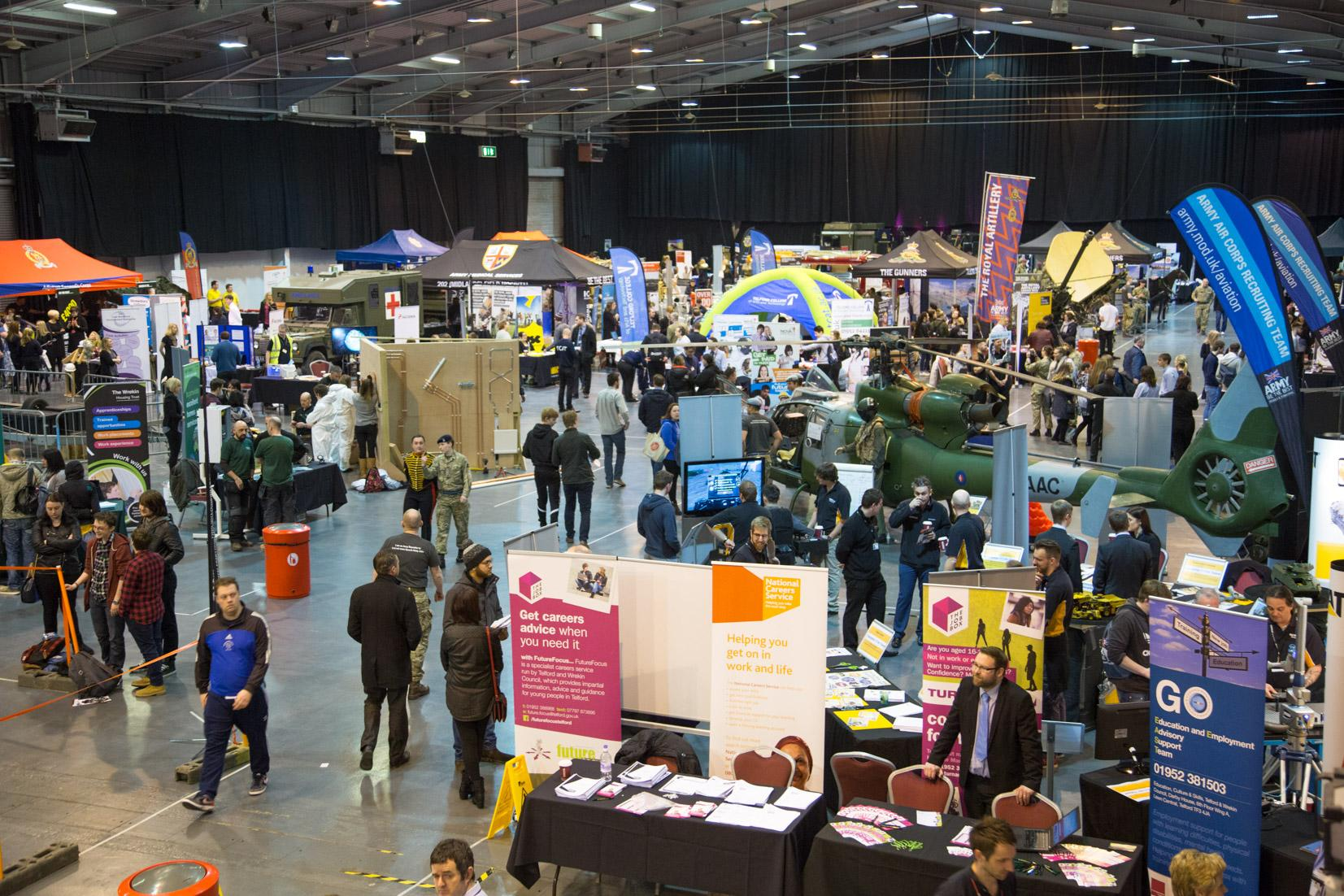 A view of The Apprenticeship Show 2016